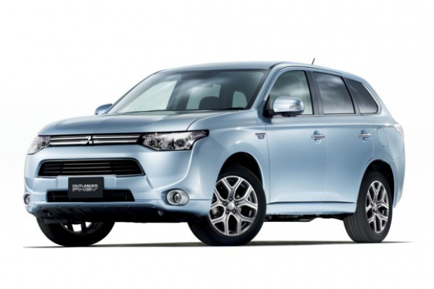 Outlander PHEV: pierwszy hybrydowy SUV Mitsubishi