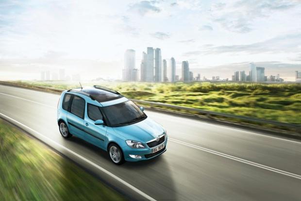 Škoda odświeża (lekko) modele Roomster i Fabia