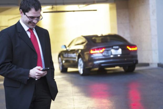 Audi podwójnie wyróżnione za system zdalnego parkowania