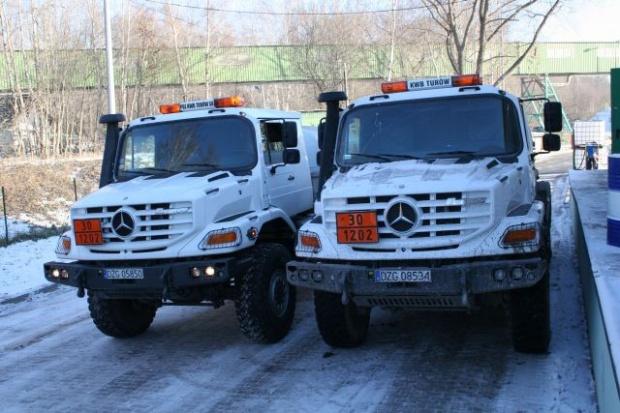Mercedes: drużyna Z w kopalni w Bogatyni