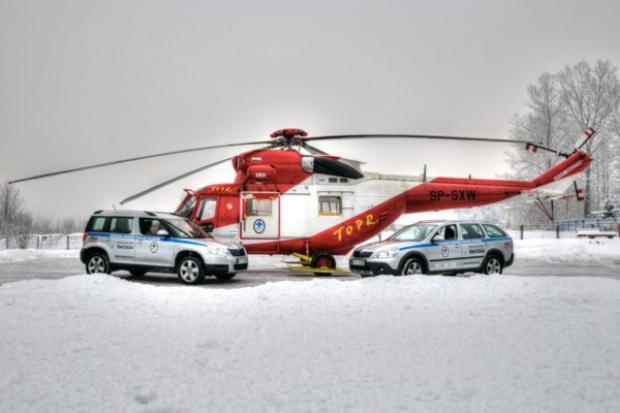 Kolejne auta Škody w służbie tatrzańskich ratowników