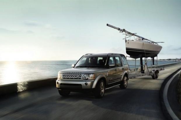 Holować jak .... Land Rover Discovery