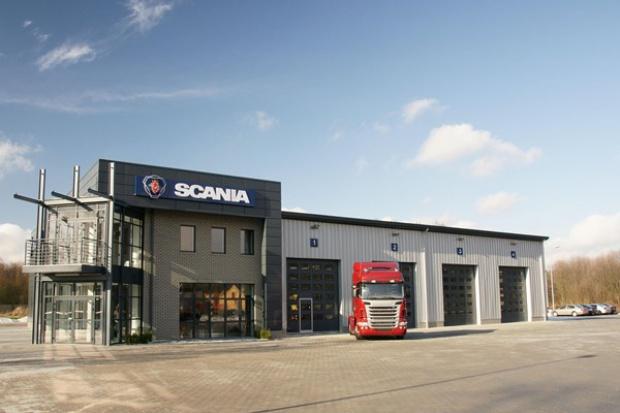 Nowy serwis Scania pod Bydgoszczą