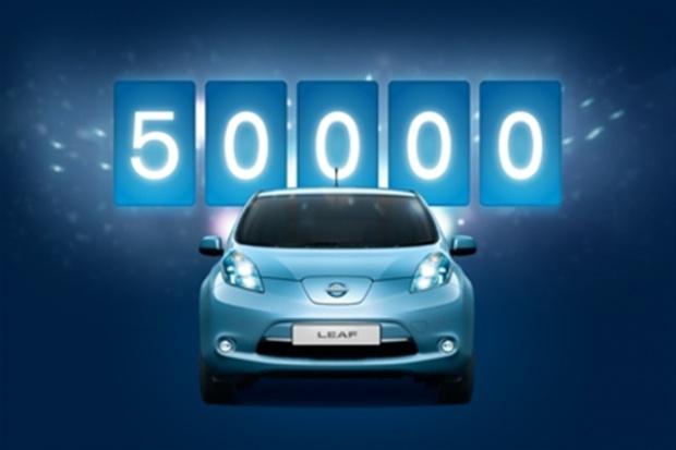 Nissan sprzedał 50 tysięcy modeli LEAF