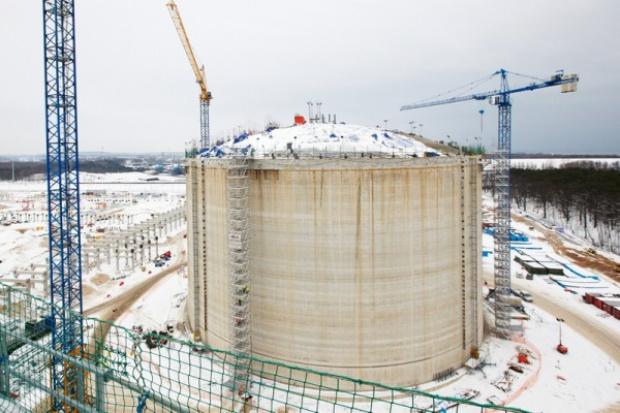 Co jest najbardziej opóźnione w budowanym terminalu LNG?