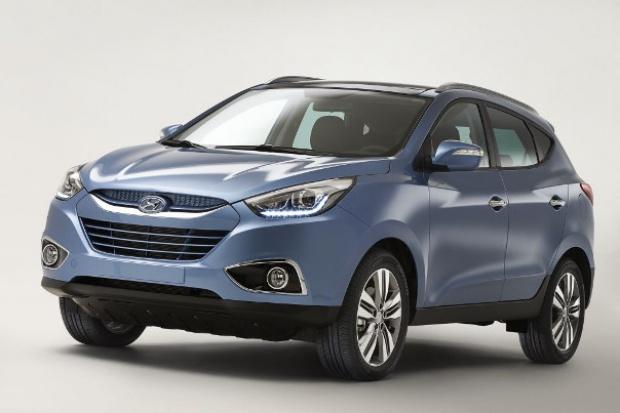 Hyundai ujawnił pierwsze zdjęcie nowego ix35