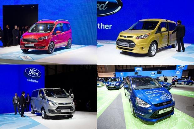 Salonowa ofensywa produktowa Forda