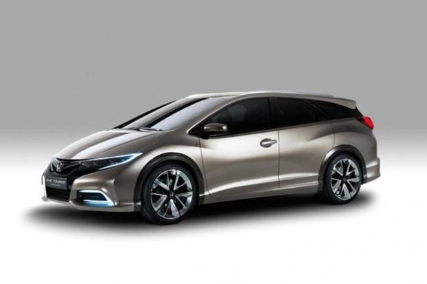 Honda ujawnia koncepcyjny model Civic Tourer