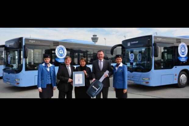 Autobusy MAN z Polski do Bawarii