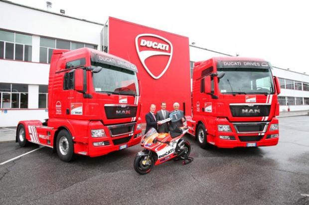 MAN w służbie Ducati