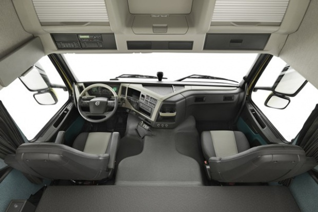 Volvo FM: miejsce pracy po nowemu