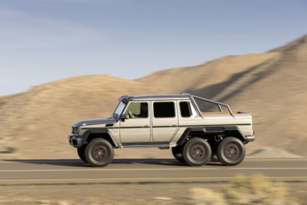 Mercedes-Benz G 63 AMG - prawie jak czołg