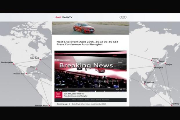 Audi uruchamia telewizję internetową