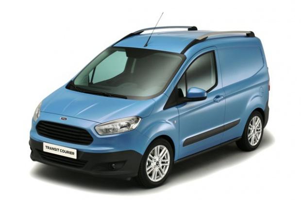Ford Transit Courier uzupełnia rodzinę Transita