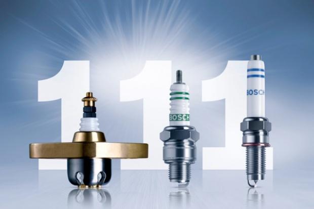 111 lat świec zapłonowych Bosch