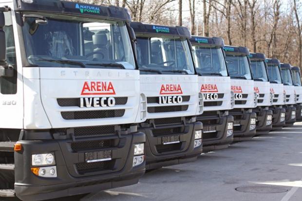 Seria gazowych Iveco pojechała do Bułgarii