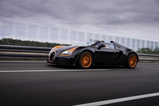 Bugatti Veyron najszybszym kabrioletem na świecie.