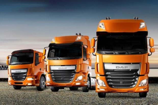 Ciężarowa aerodynamika wg DAF