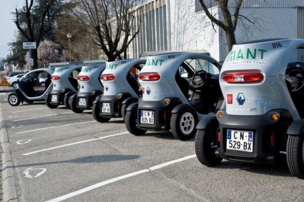 Francuska Komisja Energii Atomowej korzysta z systemu współużytkowania e-aut