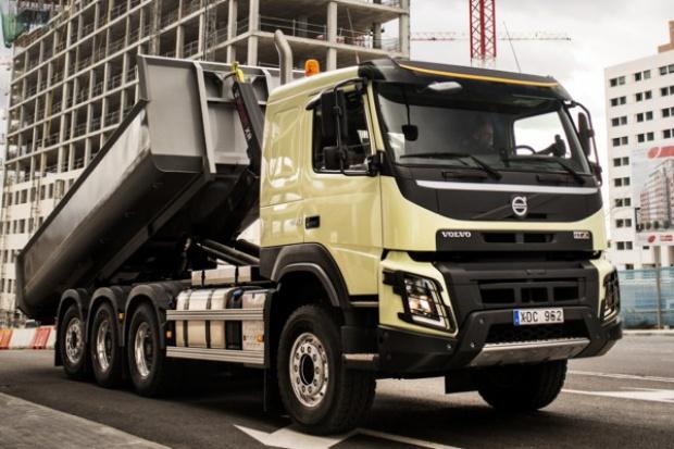 Volvo FMX: nowy pomysł na kabinę pojazdu budowlanego