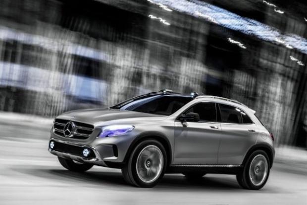 Mercedes-Benz Concept GLA: precz z nudą
