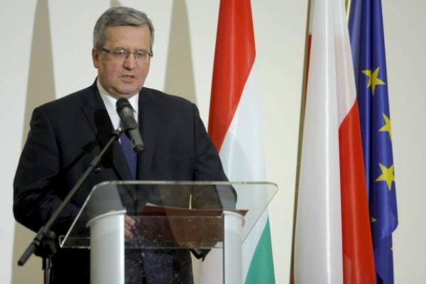 Bronisław Komorowski chce rewizji polityki energetycznej