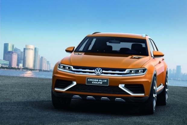 Volkswagen pokazał CrossBlue Coupé - SUV'a przyszłości