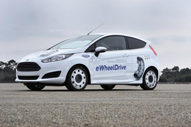 Ford i Schaeffler prezentują eWheelDrive