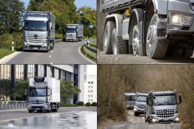 """Mercedes-Benz Trucks szczyci się """"Drużyną A"""""""