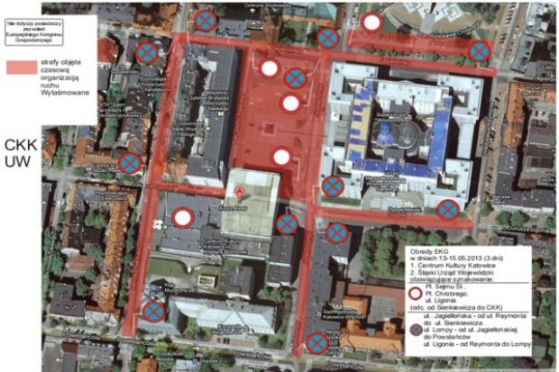 EEC 2013 a zmiany organizacji ruchu i parkowania