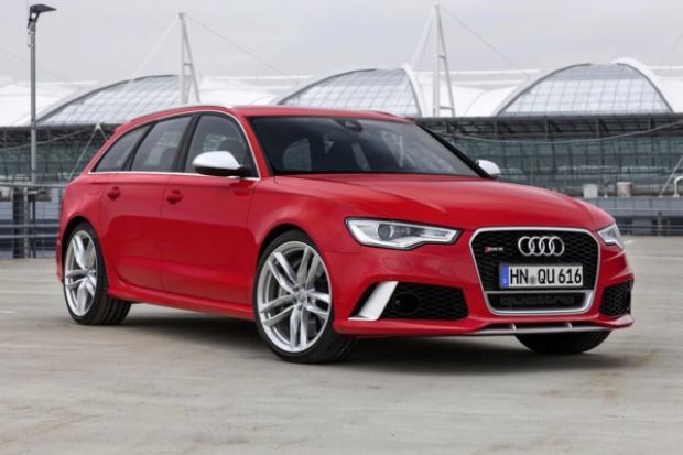 Audi RS 6 Avant: przewaga mocy