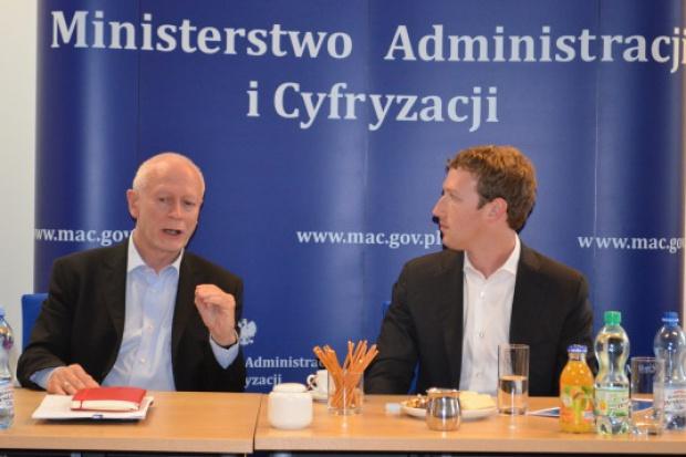 Boni spotkał się w Warszawie z założycielem Facebooka