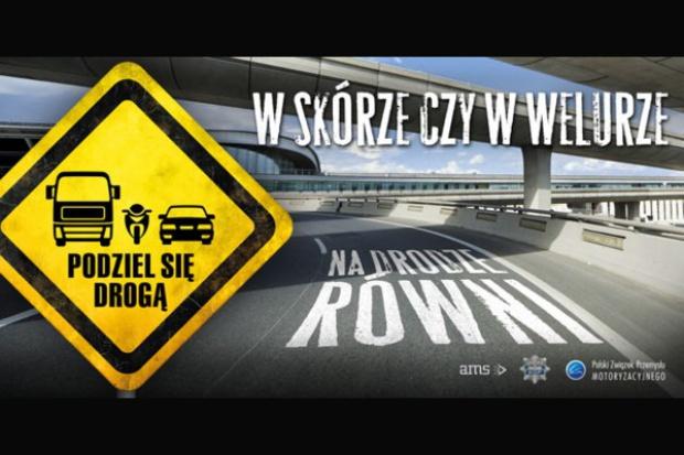 """""""Równi na drodze"""": dla motocyklistów i kierowców samochodów"""