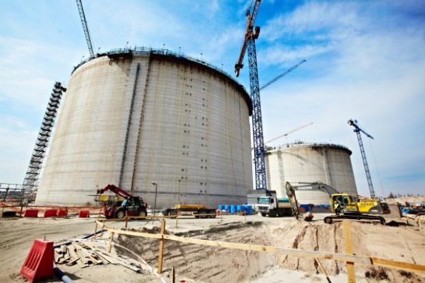 Terminal LNG gotowy już w ponad połowie