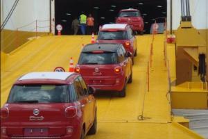 Fiat 500L dopłynął do Ameryki Północnej.