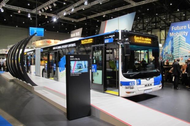 MAN proponuje rozwiązania dla transportu miejskiego