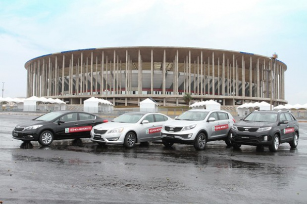 Kia na FIFA Confederations Cup 2013