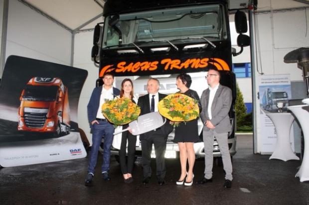 Sachs Trans odbiera pierwszego DAF'a XF Euro 6