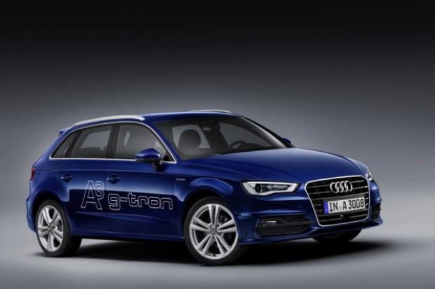 Audi wprowadza swój pierwszy seryjny model gazowy