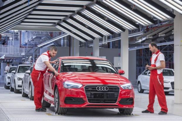 Audi Hungaria rozpoczyna produkcję w nowej fabryce