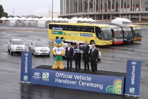 Hyundai podczas Pucharu Konfederacji w Piłce Nożnej