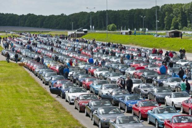Mazda MX-5 pobiła rekord świata.