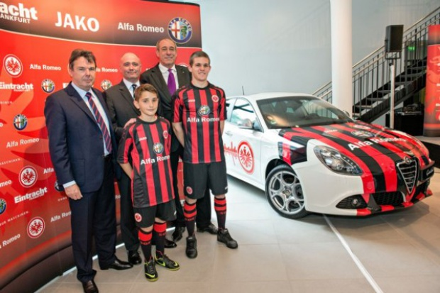 Alfa Romeo zagra w Bundeslidze
