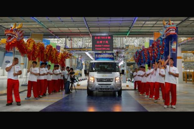 Ford wyprodukował już 7 000 000 modeli Transit