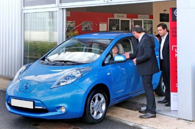 Sprzedaż Nissana LEAF przekroczyła w Europie 10 000 egz.
