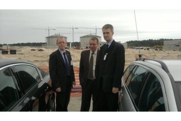 Odbiór rurociągów na terminalu LNG w Świnoujściu