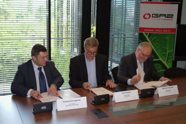 """GAZ-SYSTEM S.A. i Urząd Dozoru Technicznego podpisały dokument """"Warunki Techniczne"""""""