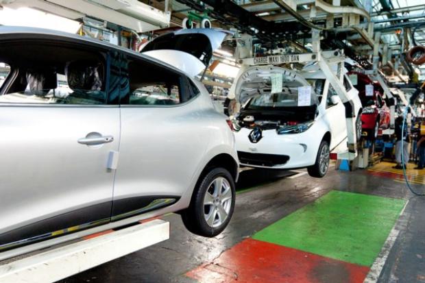 Renault ZOE: e-auto zmienia rytm życia fabryki