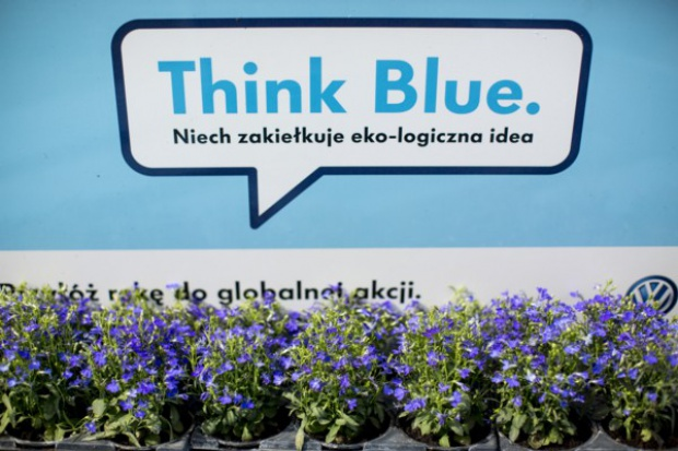 Volkswagen Group Polska promuje ideę Think Blue