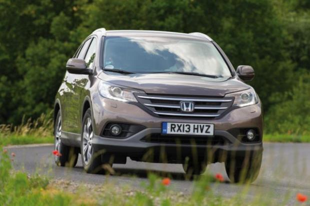 Honda wprowadza model CR-V z najlżejszym dieslem